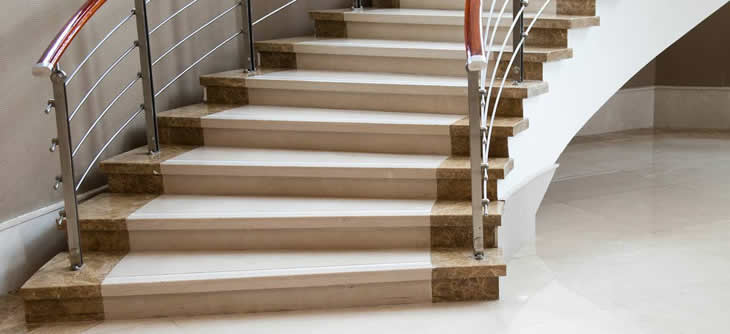 Marmor Treppen marmor treppen belastbare marmor treppen