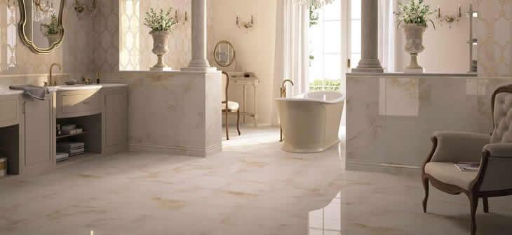 Elegante Und Natürliche Marmor Fliesen